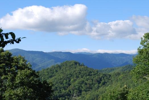 Great Smoky Mountains - Dôme Clingmans