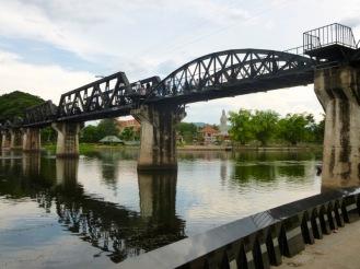 Kanchanaburi - pont de la rivière Kwai